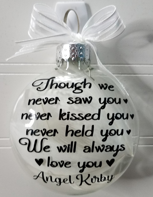 Miscarriage Memorial Gift - In Memory of Baby Sympathy
