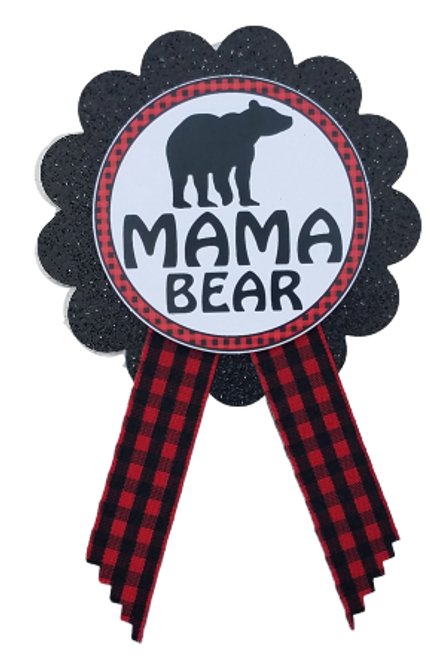 Woodland Lumberjack Baby Shower Pin
