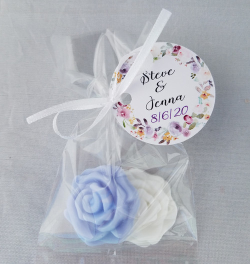 Flower Shower Favors - Rose, Tulip, Daisy