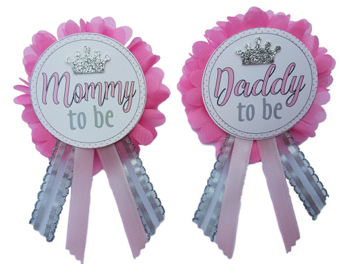 Princess Pin for baby shower