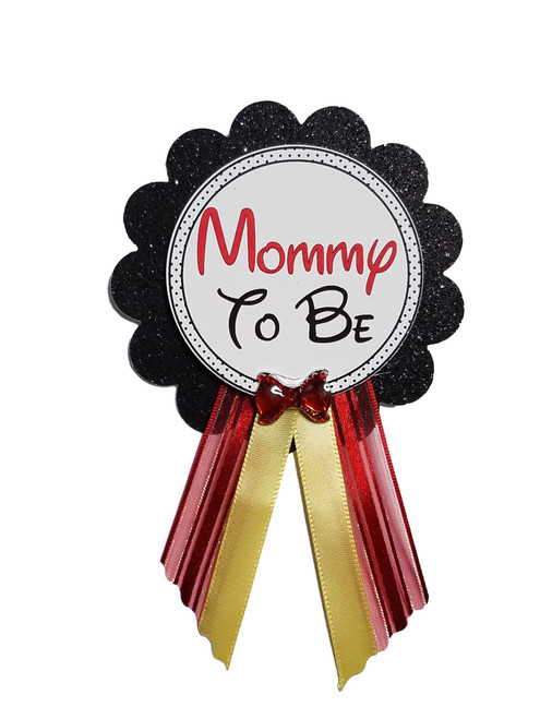 Personalized Baby Shower Pin