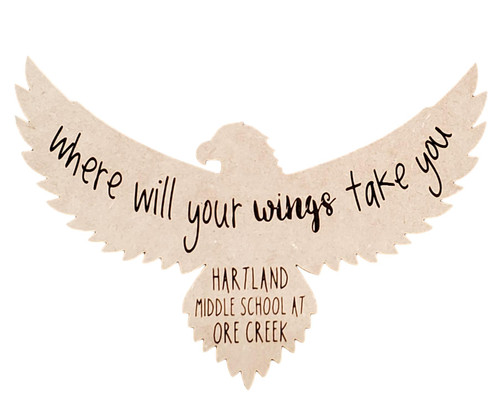 Personalized Eagle Where will your wings take you