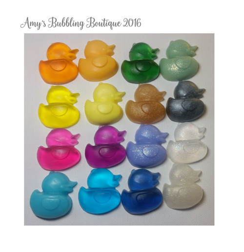 Rubber Duck Soap Baby Shower Party Favors - Pack of 25