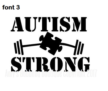 Personalized Autism Awareness Vinyl Decal for Boys and Girls
