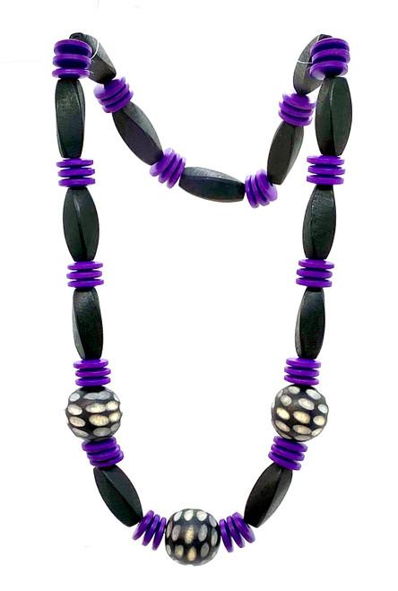 Purple Dynasty Necklace