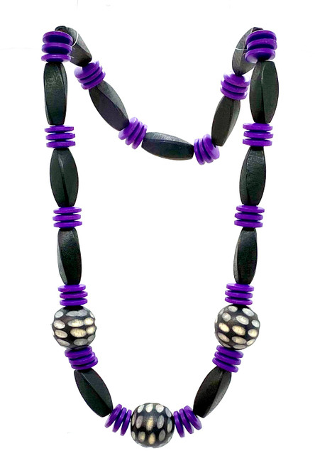 Purple Dynasty Necklace