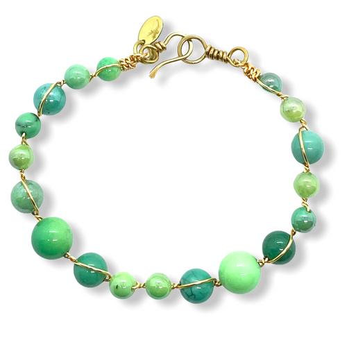 Desire Gemstone Bracelet in 14kt Gold-Filled or Sterling Silver
