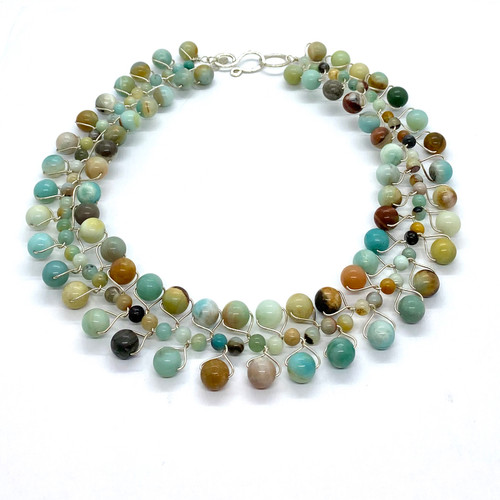Tranquil waters signature collar necklace