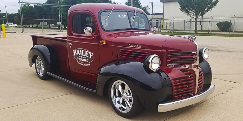 Cindy Bailey 1947 Dodge Truck