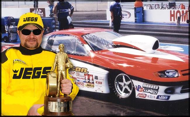 David Tatum 2010 NHRA Super Gas World Champion