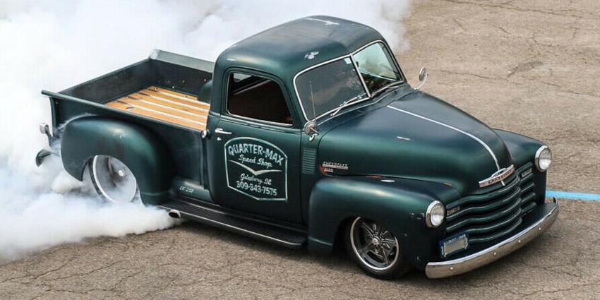 Rick Jones 1949 Chevy Pickup Truck