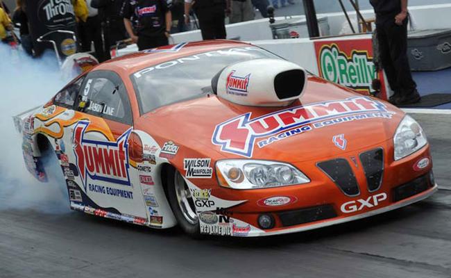 Jason Line 2011 NHRA Pro Stock World Champion