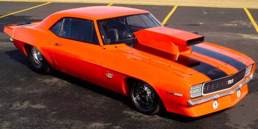 Rick & Rickie Jones 1969 Chevy Camaro