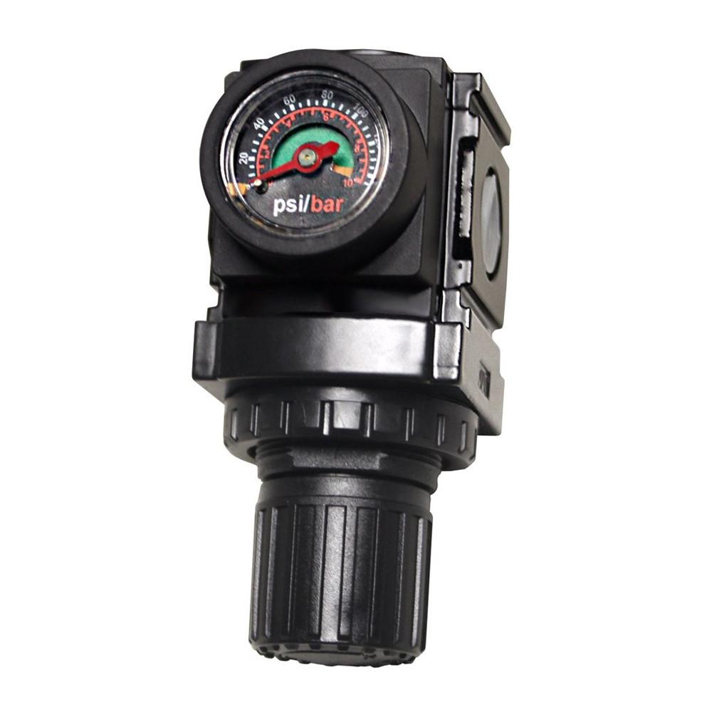 Adjustable Miniature Air Water Regulator Quarter Max