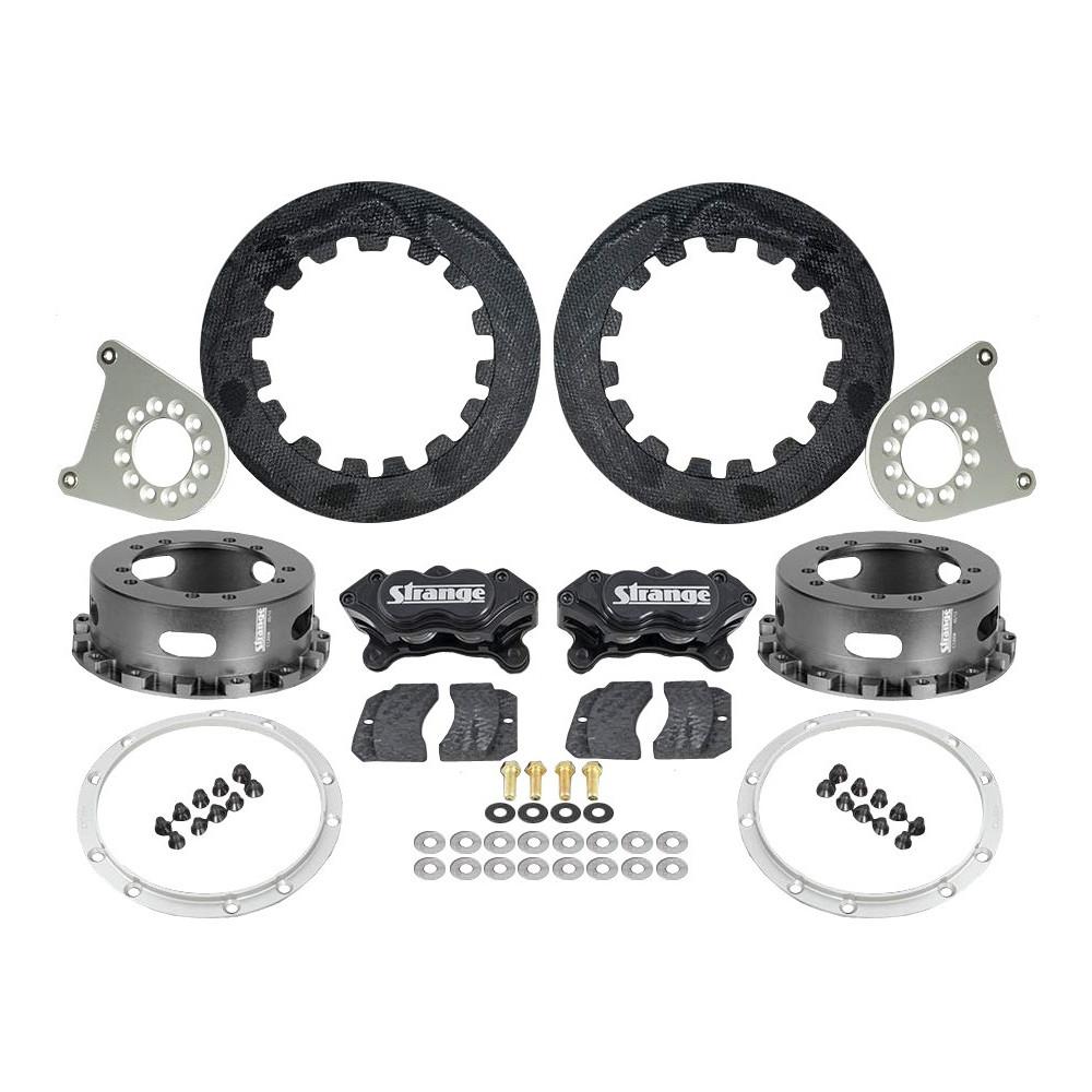 Carbon Rear Brake Kit for Strange 2012 & Earlier Floater Kits, 4-3/4