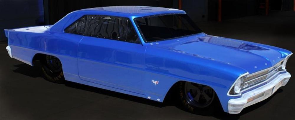 1967 Chevy II Nova, Fiberglass - Quarter-Max Chassis