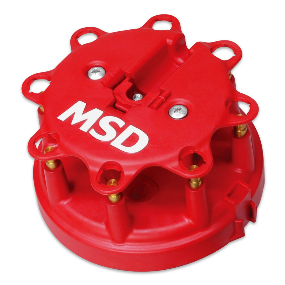 MSD Ignition 8416 Distributor Cap And GM HEI Rotor Distributor Cap Kit