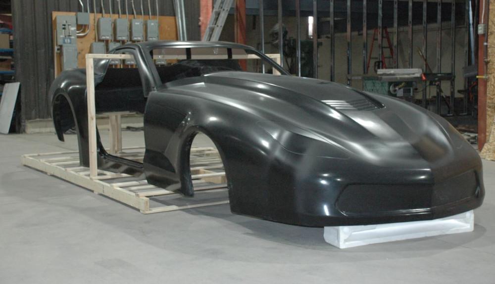 Cynergy C7 Z06 Corvette Carbon Fiber Body Quarter Max