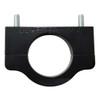 "Billet Tube Clamp, Black Anodized - 1.75"" Diameter"