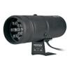 AutoMeter Shift Light, 12 Amber LED, Pedestal, Black, Super-Lite