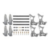 "Quarter-Max 301103-3.25 4-Link Kit with 2"" x 3"" Chassis Brackets & 3-1/4"" Axle Tube Hole Size Housing Brackets"