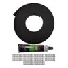 "Quarter-Max 219550 Lexan Window Rubber Installation Kit, 1/4"""