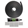 "Quarter-Max 219552 Lexan Window Rubber Installation Kit, 1/2"""