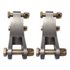 "Billet Adjustable Double Shear Shock Mounts, 3/4"" Wide"