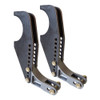 """Billet Adjustable Double Shear Shock Mount Kit, 3/4"""" Wide"""