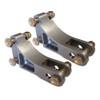 "Billet Adjustable Double Shear Shock Mounts, 3/4"" Wide"
