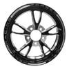 "Weld Racing Full Throttle, 15"" x 3.5"", 5"" x 4.5"", 2.25"" BS, Black"