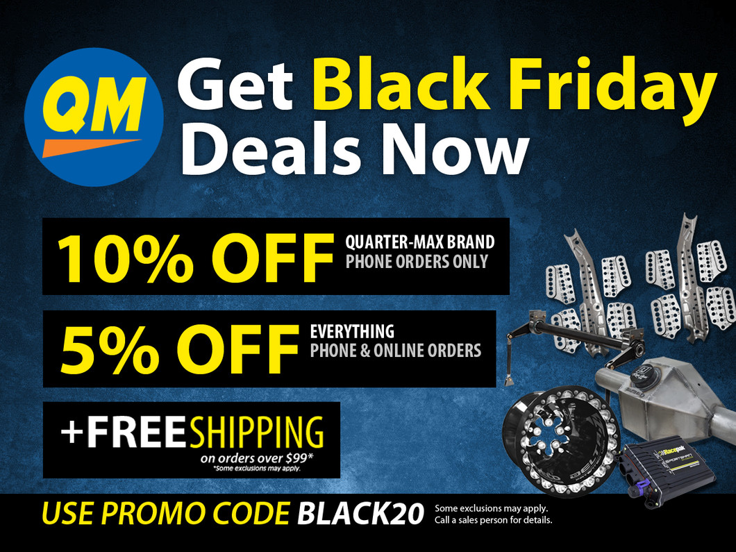 ​Get Black Friday Deals Now at Quarter-Max!