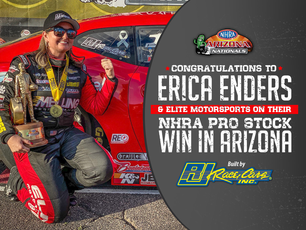 Erica Enders Continues Strong Start, Rolls To Impressive Pro Stock Win In Phoenix in RJ Race Cars built Camaro