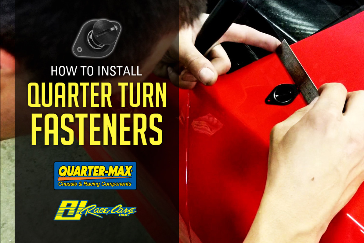 WATCH NOW: How to Install Quarter Turn Fasteners