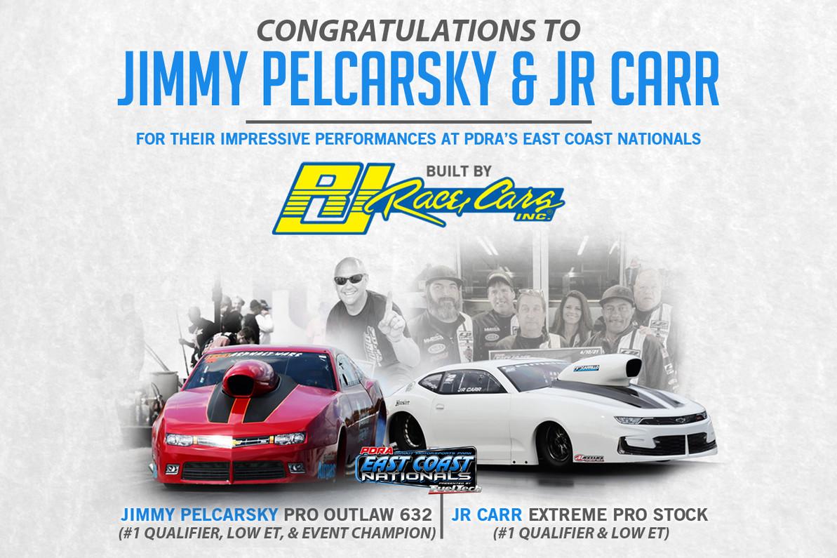 Pelkarsky Dominates Pro Outlaw 632 in his RJ Race Cars built Camaro