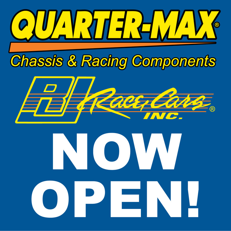 NOW OPEN! COVID-19 Quarter-Max/RJ Race Cars Operations Update