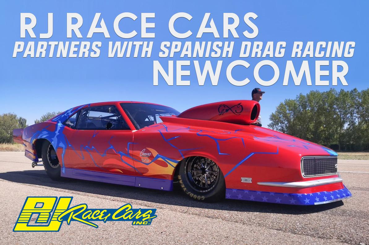 RJ Race Cars Partners With Spanish Drag Racing Newcomer
