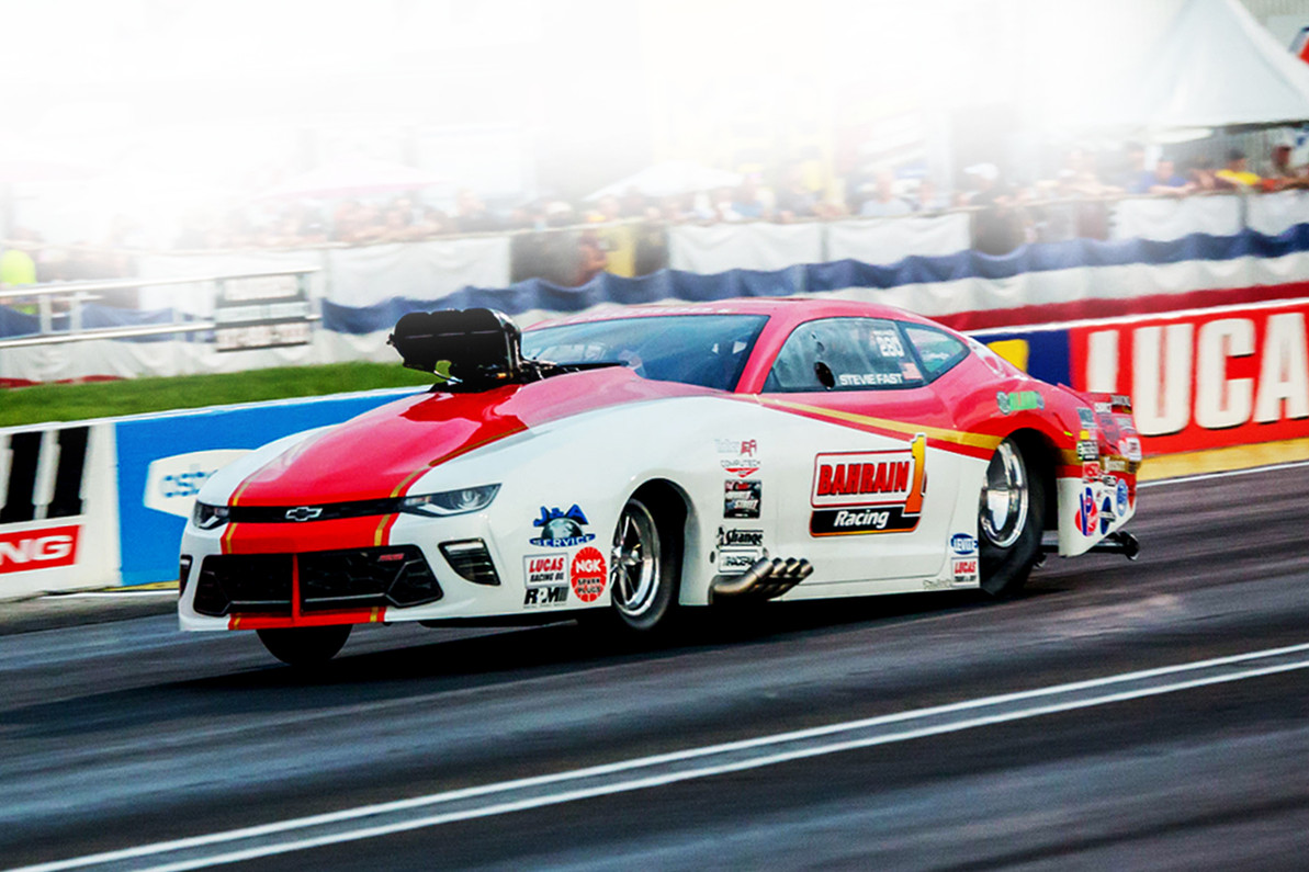 """Stevie """"Fast"""" Jackson Performs, Win Second Straight NHRA Pro Mod Title  in his RJ Race Cars built Camaro"""