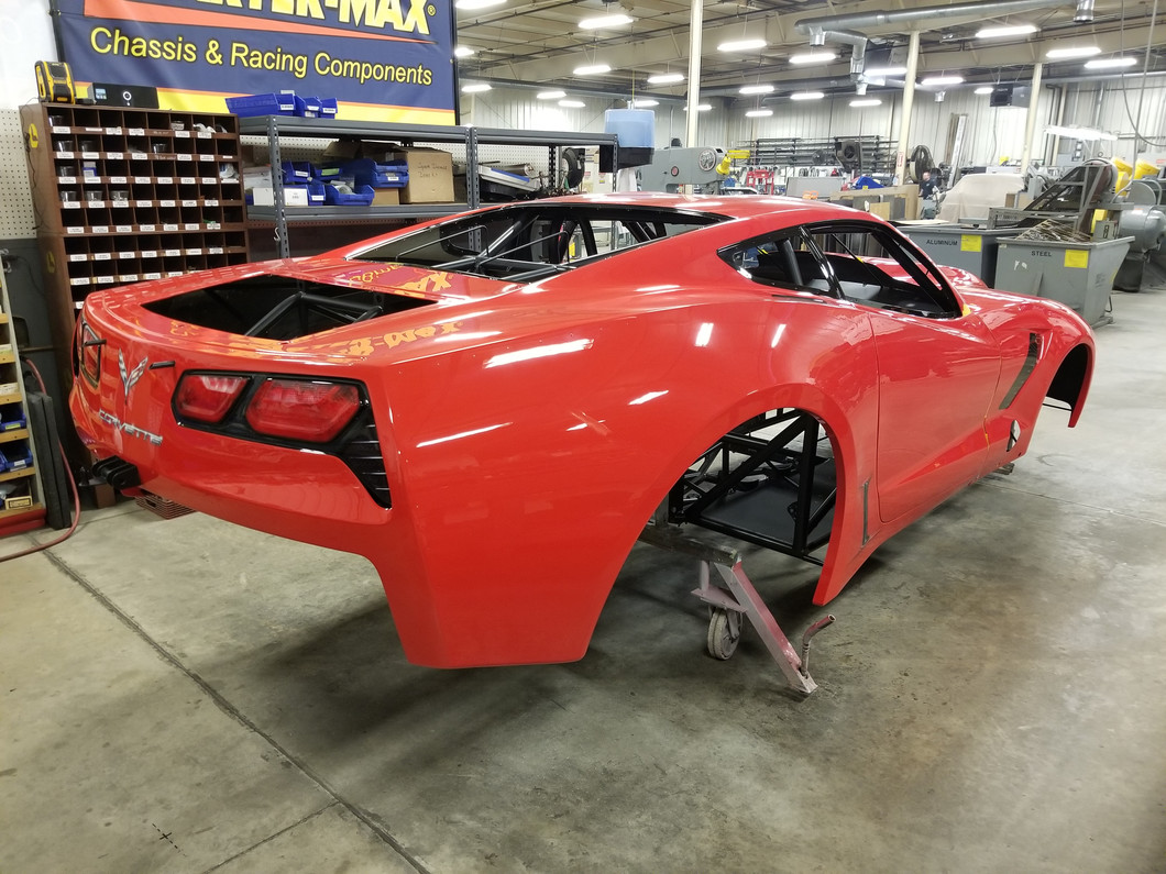 WATCH NOW: This new C7 Corvette is ready for assembly!