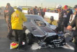 Allen Firestone's Repair Process Begins After Winning NHRA Top Sportsman in Topeka