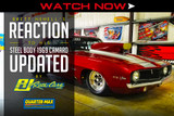 WATCH NOW: Brett Newell's Reaction To His Steel Body 1969 Camaro Updated By RJ Race Cars
