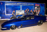 Joey Oksas claims a Pro Mod Win during the Mid-West Drag Racing Series at SRCA Dragstrip in a RJ built Mustang!