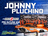 Johnny Pluchino Wins Back To Back PDRA Pro Outlaw 632 World Championships In RJ Race Cars Built Escort