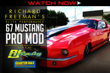 FIRST LOOK: Richard Freeman's Elite Performance 67 Mustang Pro Mod built by RJ Race Cars