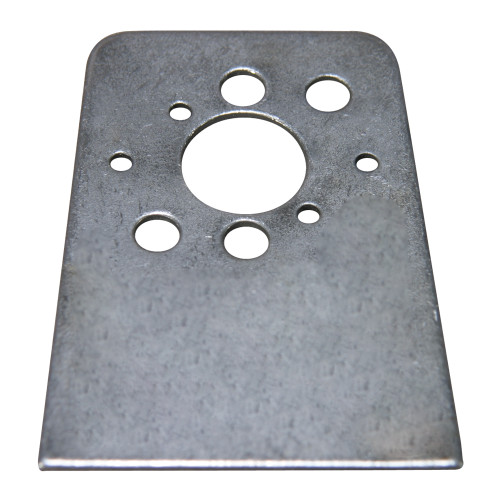 #5 or #6 Quarter Turn Fastener Weld-On Plate