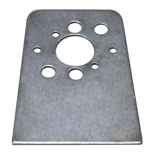 #5 or #6 Quarter Turn Fastener Weld-On Plate