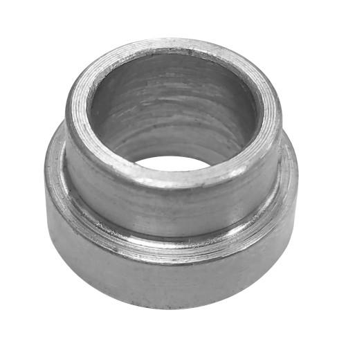 """.375"""" ID x .500"""" OD x .188"""" W Step Bushing, Aluminum"""
