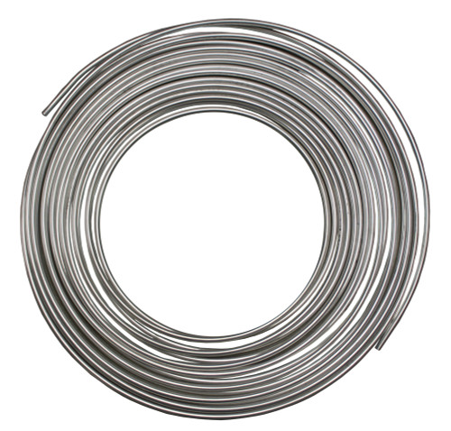 """1/4"""" OD x.035"""" W Aluminum Tubing, 50 ft"""