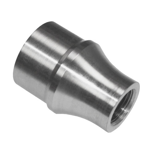 "1/4""-28 RH x 1/2"" .049"" Tube Adapter, Long Style"