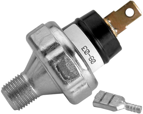 "AutoMeter Pressure Switch, 18 PSI, 1/8"" NPTF Male, For Pro-Lite Warning Light"